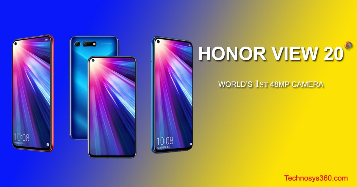 Honor View 20 Specification
