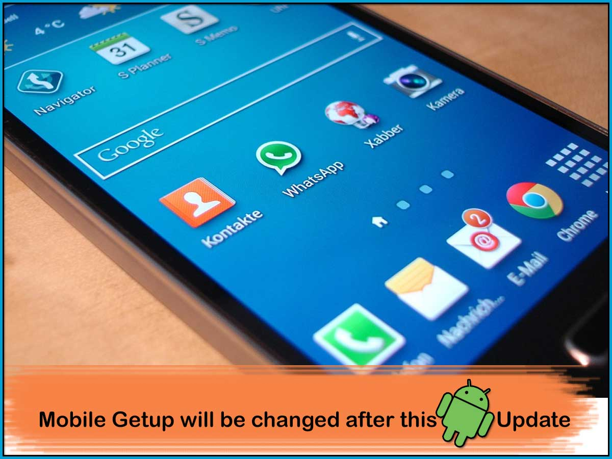 This Android update will change the getup for each smartphone you use
